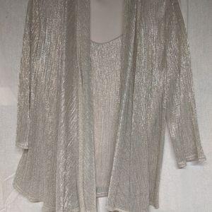 One piece dress blouse size xl